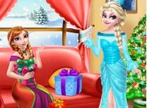 Surori Frozen Cadouri Surpriza de Craciun