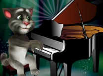 Talking Tom Canta la Pian