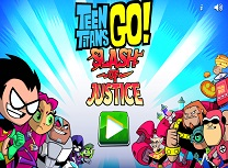 Tinerii Titani Slash of Justice