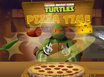 Testoasele Ninja Fac Pizza