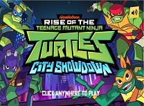 Testoasele Ninja City Showdown