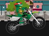 Testoasele Ninja Bikeri