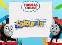 Thomas si Prieteni Colour In