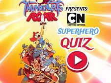 ThuderCats Roar Quiz cu Supereroi
