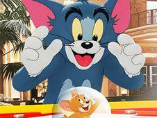 Tom si Jerry Pinball cu Capcane