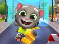 Talking Tom Alearga dupa Aur