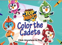 Top Wing Cadet de Colorat