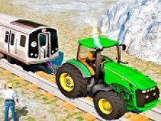 Tractor Trage Trenul
