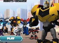 Robotii Transformers Deghizati