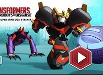 Robotii Transformers Fotbal