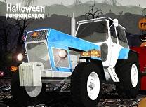 Transport de Halloween cu Camioane