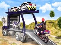 Transport Offroad de Politie