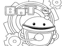 Robotul Umizoomi de Colorat