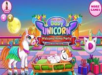 Petrecere de Bun Venit pentru Bebelusul Unicorn