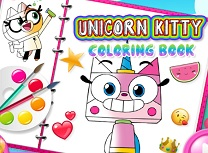 Unikitty Carte de Colorat