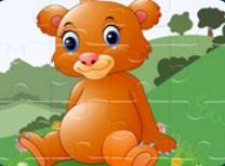 Ursul Bebelus Puzzle
