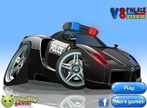 V8 Parcati Masini de Politie