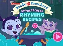 Spooktacular Rhyming Recipes