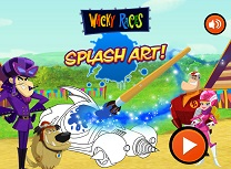 Wacky Races Splash Art