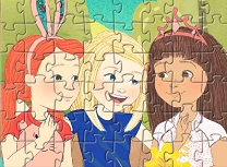 Wellie Wishers Puzzle cu Personaje